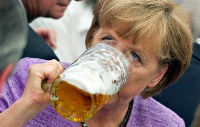 merkel cerveza