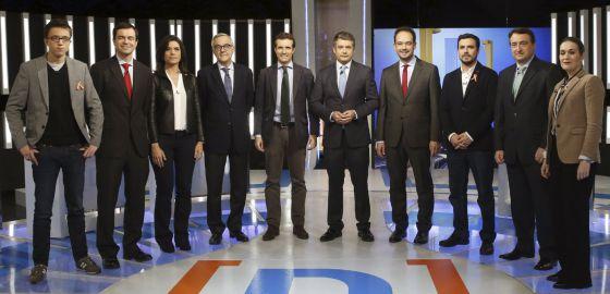 debate a 9 posado elerarquía
