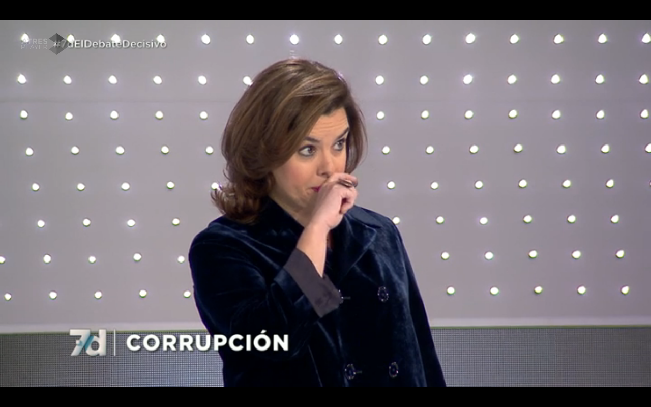 soraya debate ss micropicor desprecio