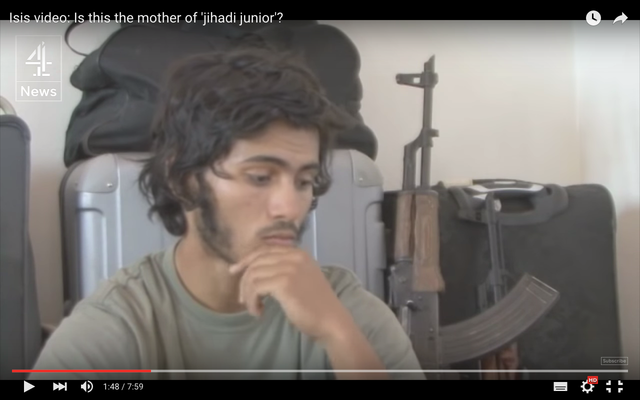 Análisis de la comunicación no verbal de un terrorista de ISIS: Duda