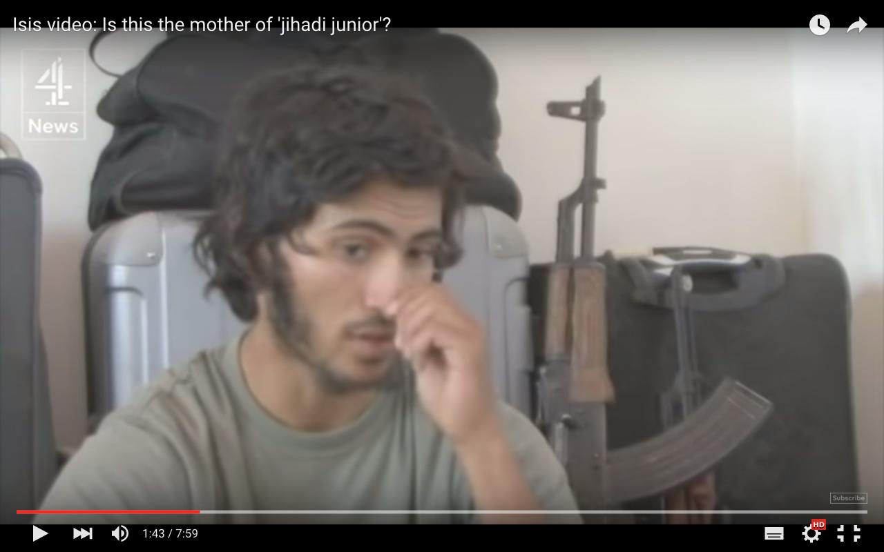 Análisis de la comunicación no verbal de un terrorista de ISIS: micropicor en la nariz