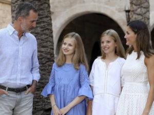 El posado real y el presidente de la Diputación de Valencia