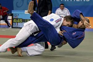 Judo paralímpico en Atenas 2004