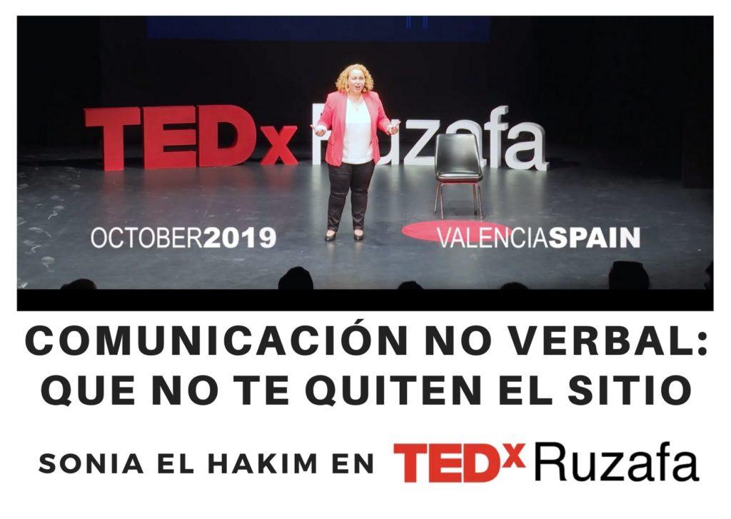 Sonia El Hakim - Charla TEDx Ruzafa sobre Comunicación No Verbal - Octubre 2020