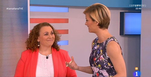 """Sonia El Hakim en """"Las Mañanas"""" de TVE"""