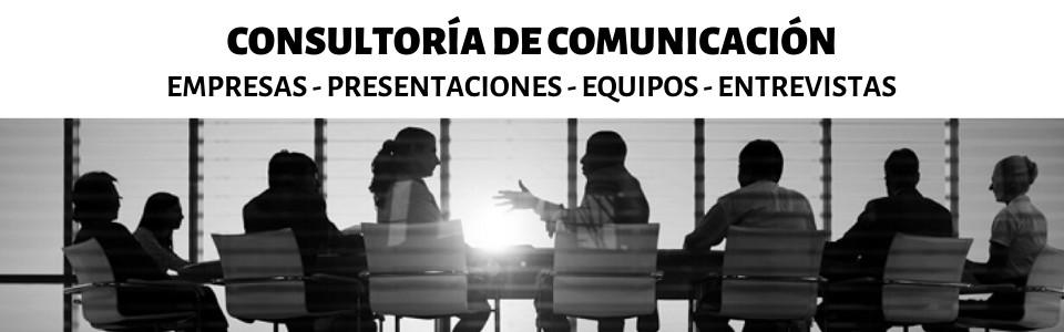 Consultoría para Empresas y Particulares. Presentaciones en público, gestión de equipos, preparación de entrevistas