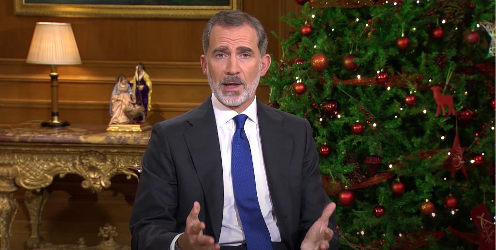 Discurso de Nochebuena de 2020 del rey Felipe VI