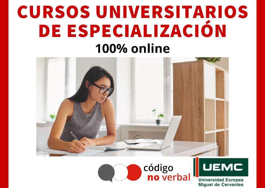 Cursos Universitarios de Especialización