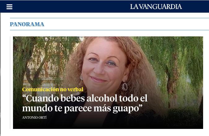 Entrevista en La Vanguardia